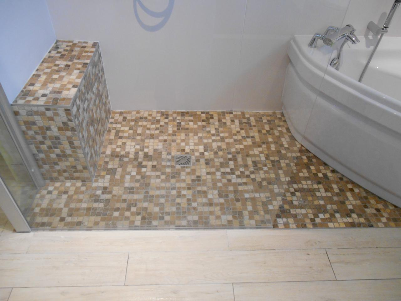 Carrelage mosaique douche italienne mosaique photo am for Carrelage pour mosaique